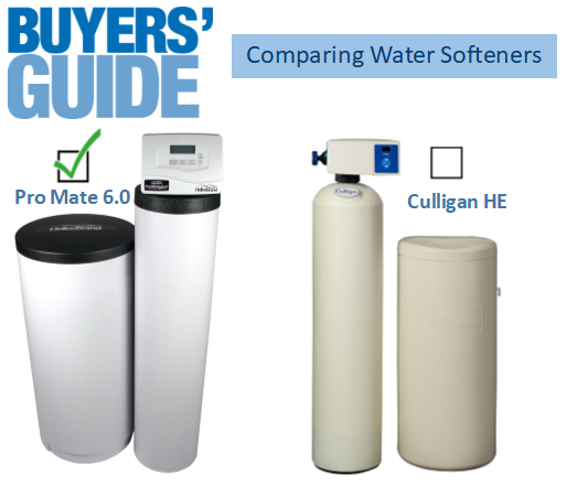 Water Softeners Compared Culligan Versus Florida Water